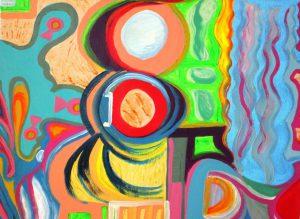 ציורי שמן ואקריליק- נחמה מיטל עזריה